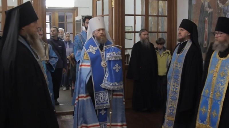 Лития. Всенощное бдение в Ферапонтовом монастыре под Рождество Богородицы
