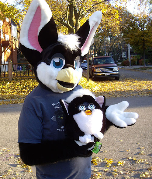 A Loh The Furby How Do You Make Those Animal Costumes