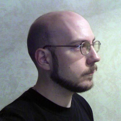 Shaven head 1