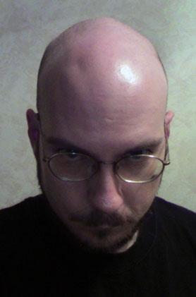 Shaven head 4