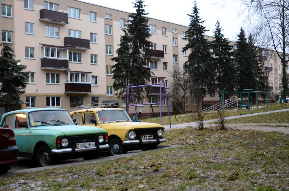 москвичи в минске