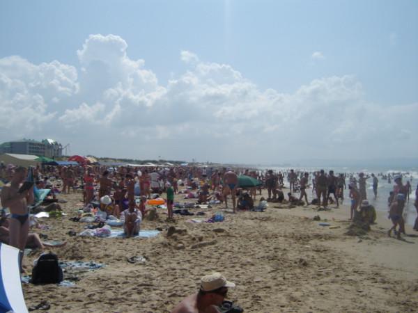 анапа - пляж - толпа