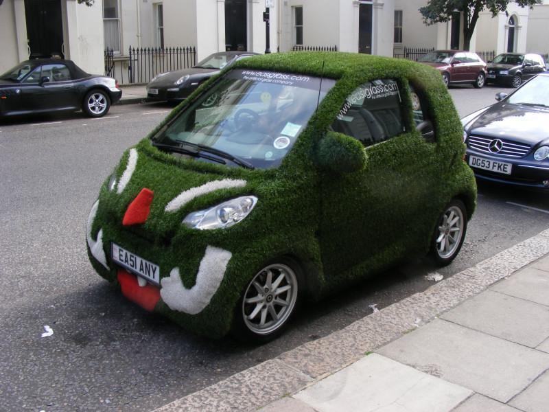 green car01