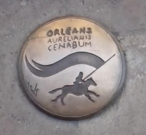 Plaque Orléans 3