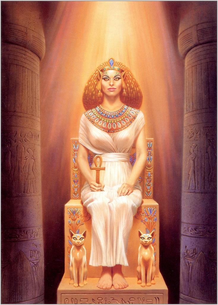 Египетская Богиня Бастет