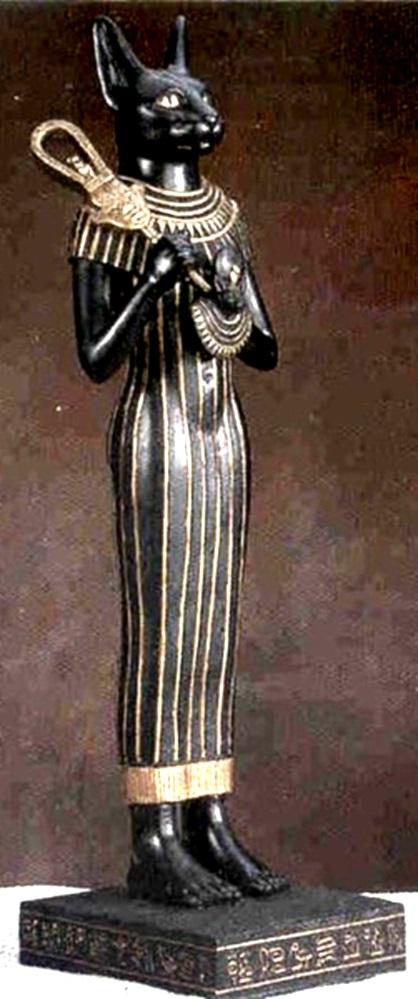 Священная богиня Баст