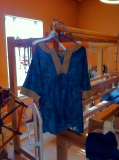 Blue Tunic front