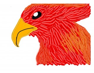 Phoenix bird by Herself, on Art Pad