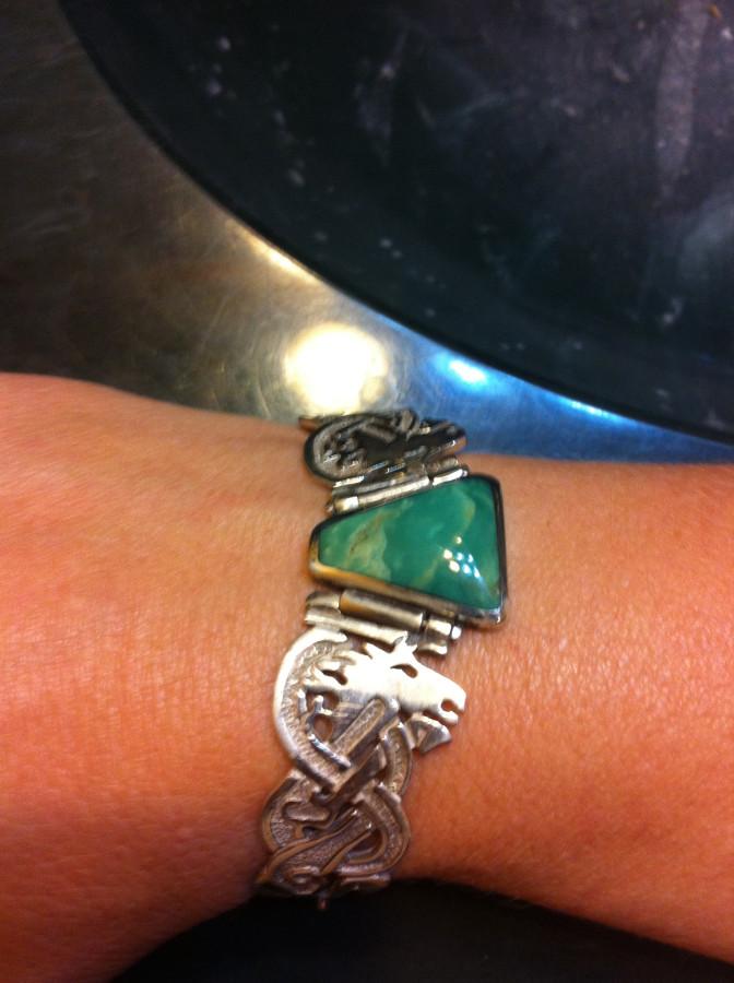 celtic horse bracelet