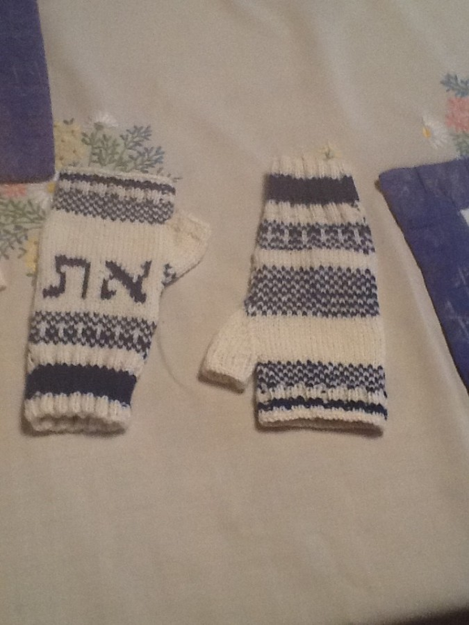 Alef Tav mitts finished