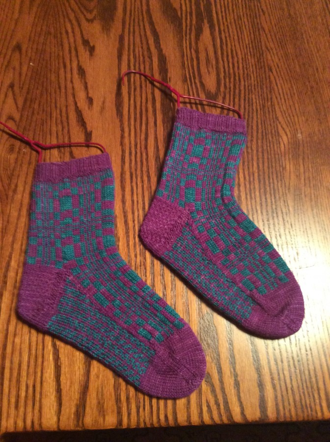 fibonacci socks