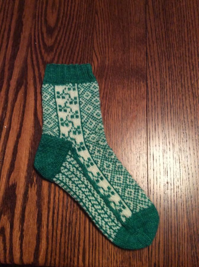 Luck of the Irish socks