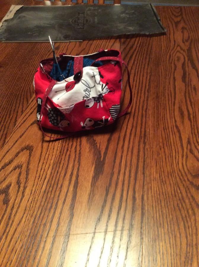 sewing - kilt hose bag