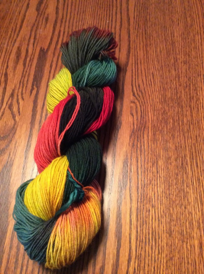 Van Gogh skein side 2