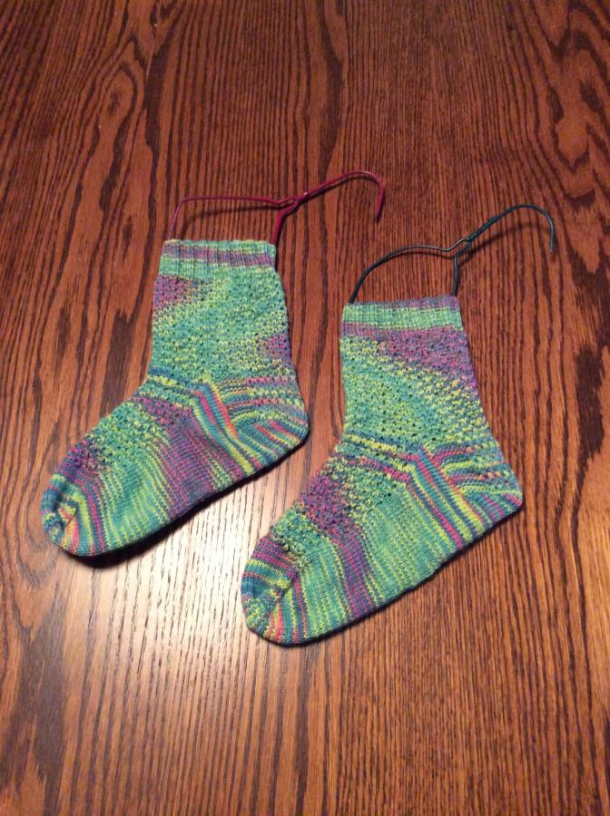 Impressionist Socks left