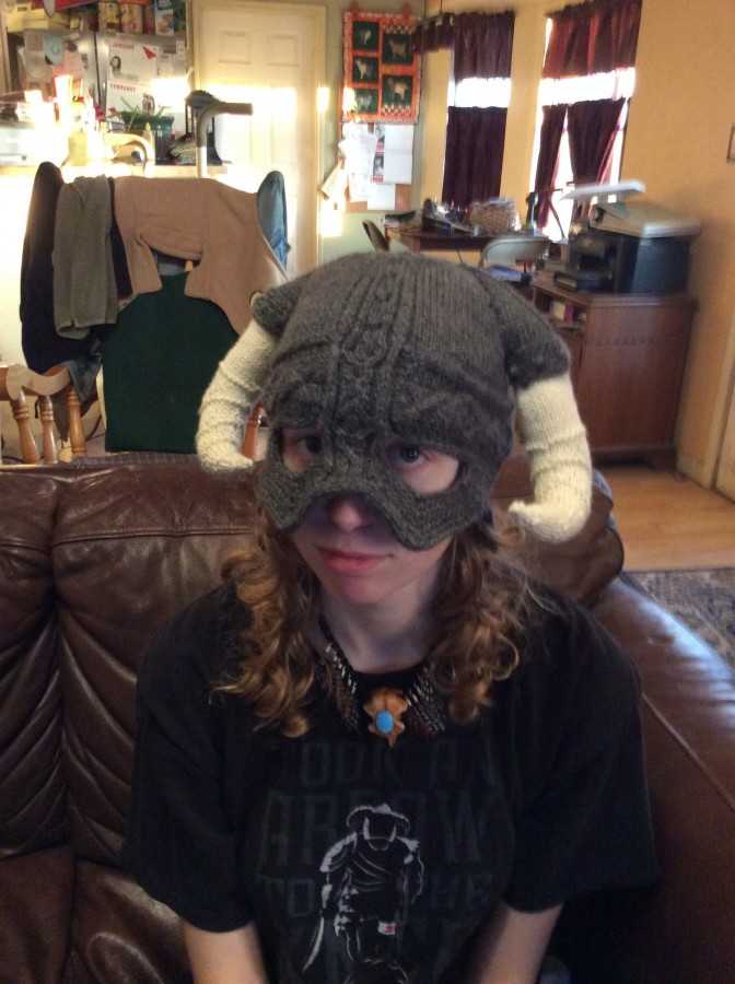 Skyrim hat front
