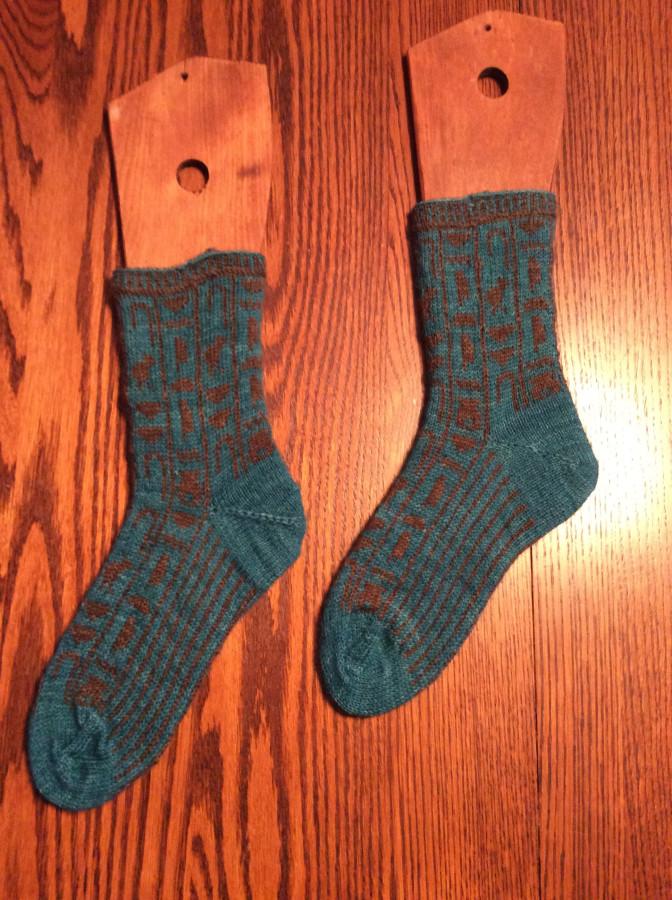 2015 hieroglyphic socks left