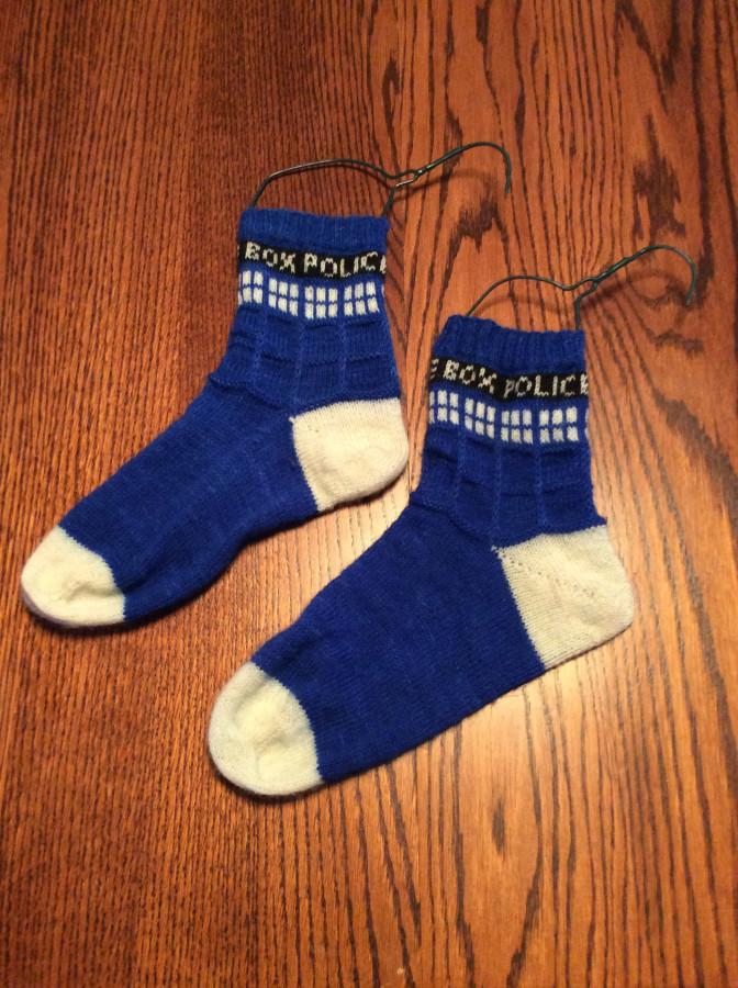 SG's Tardis Socks