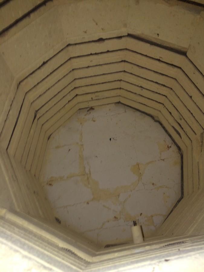 Kiln inside