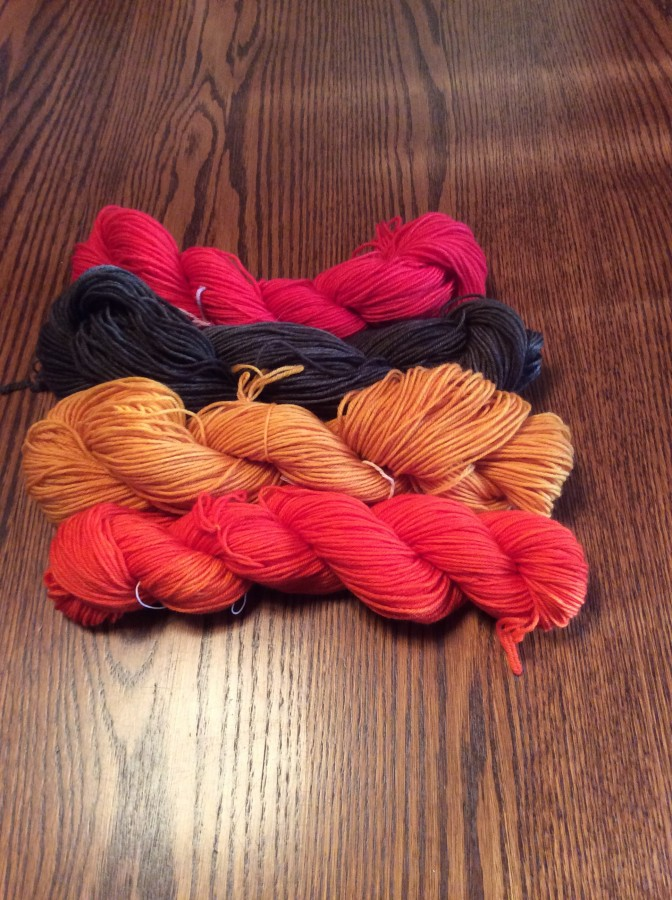 Cunning Socks yarn