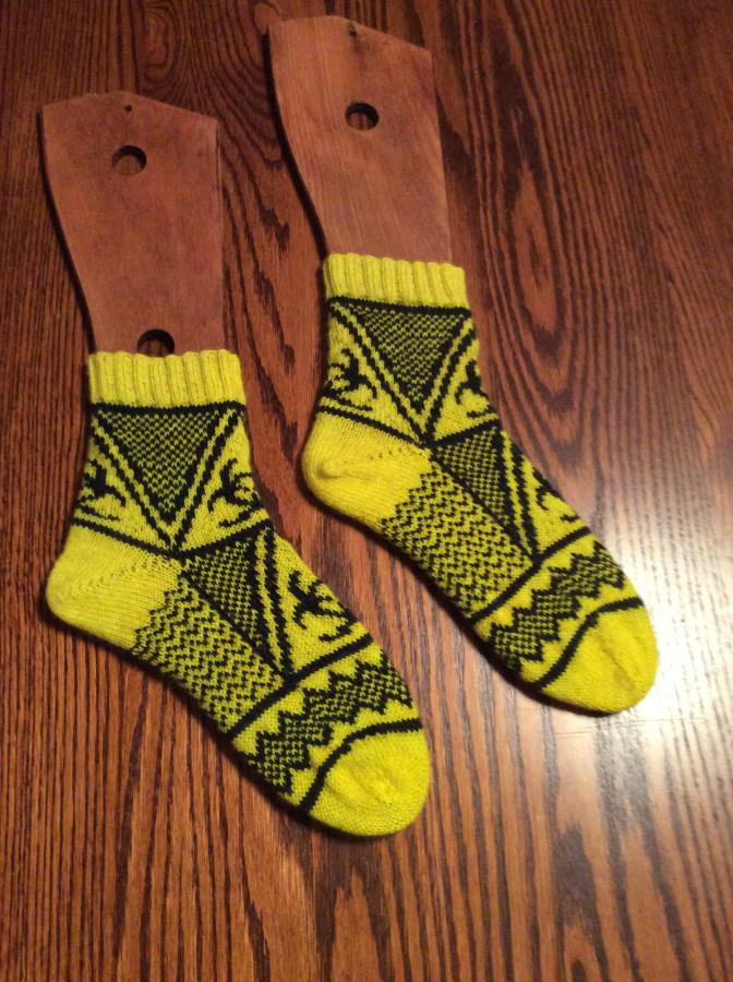 2015 Biohazard Socks side