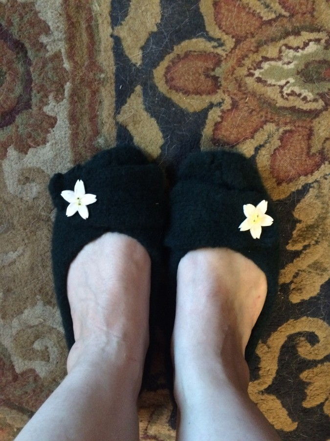2015 slippers finished