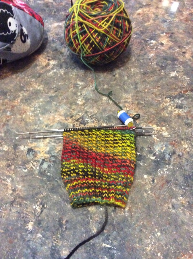 2015 Van Gogh socks front