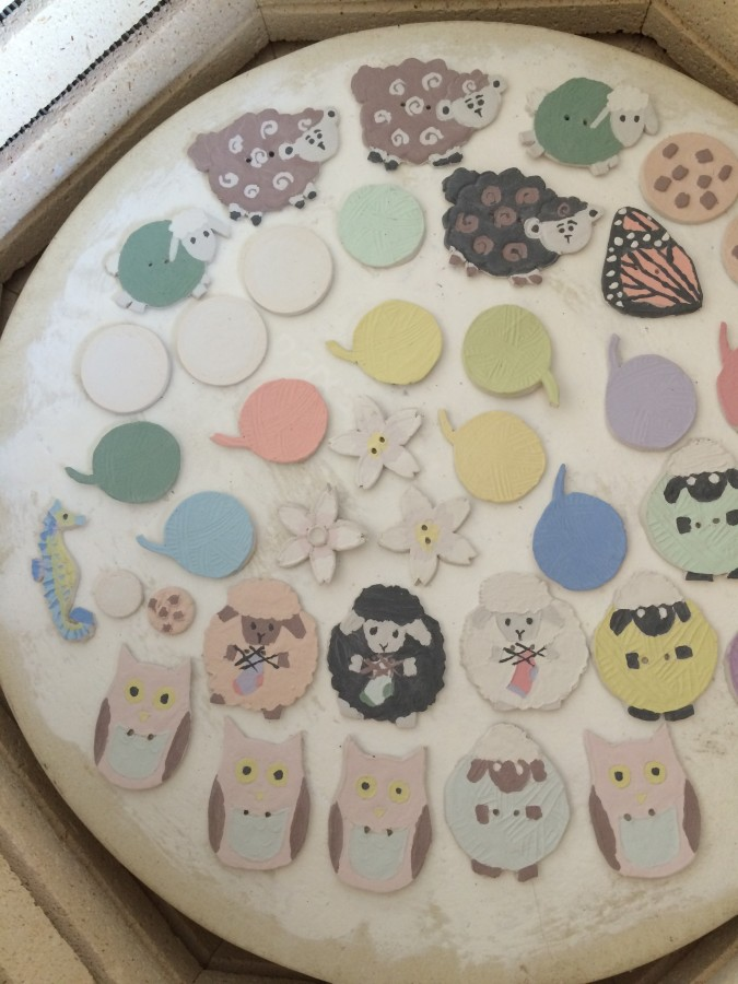 buttons unfired