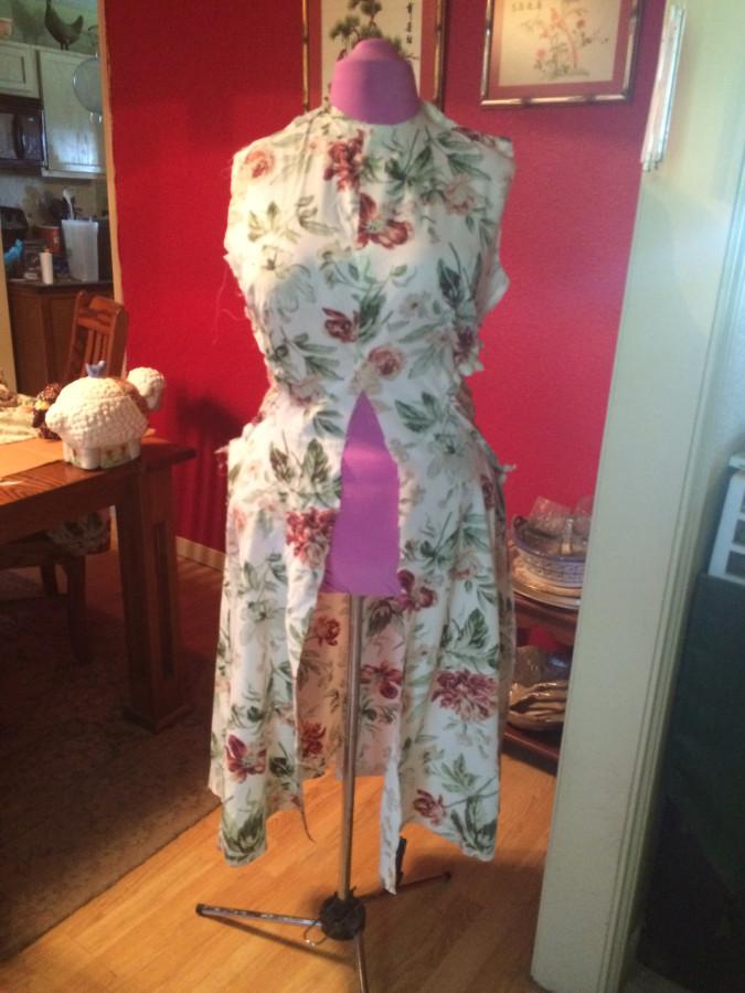 dress - form front