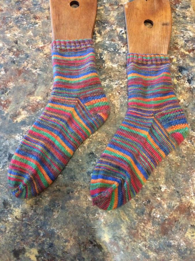 2015 crazy stripes socks