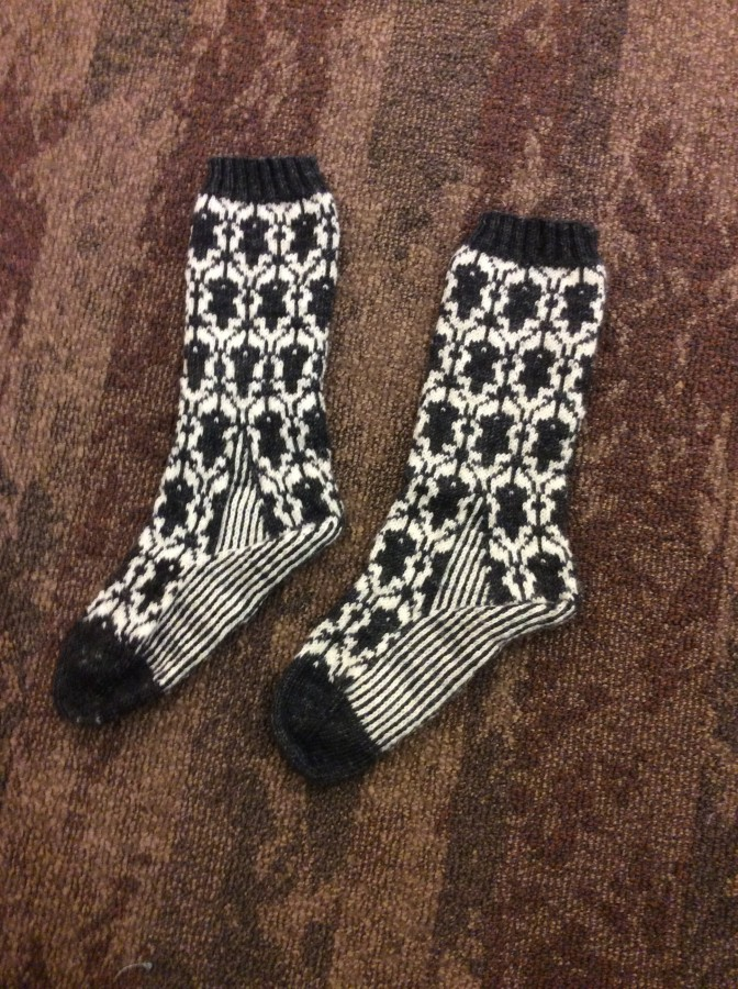 2015 Sherlock Socks finished