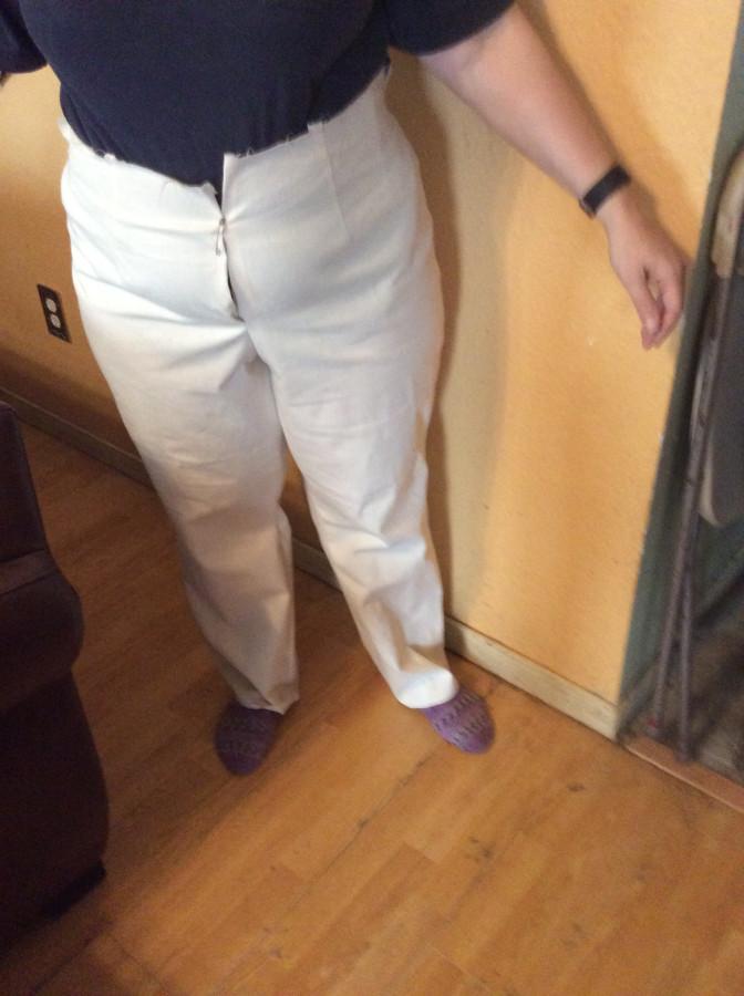 2016 Pants block front