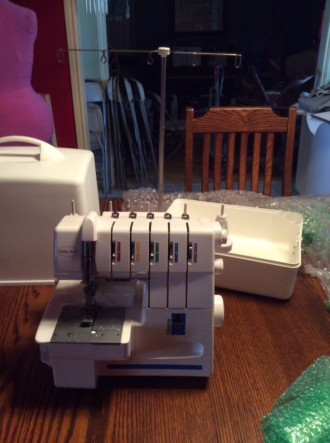 BL Serger outside
