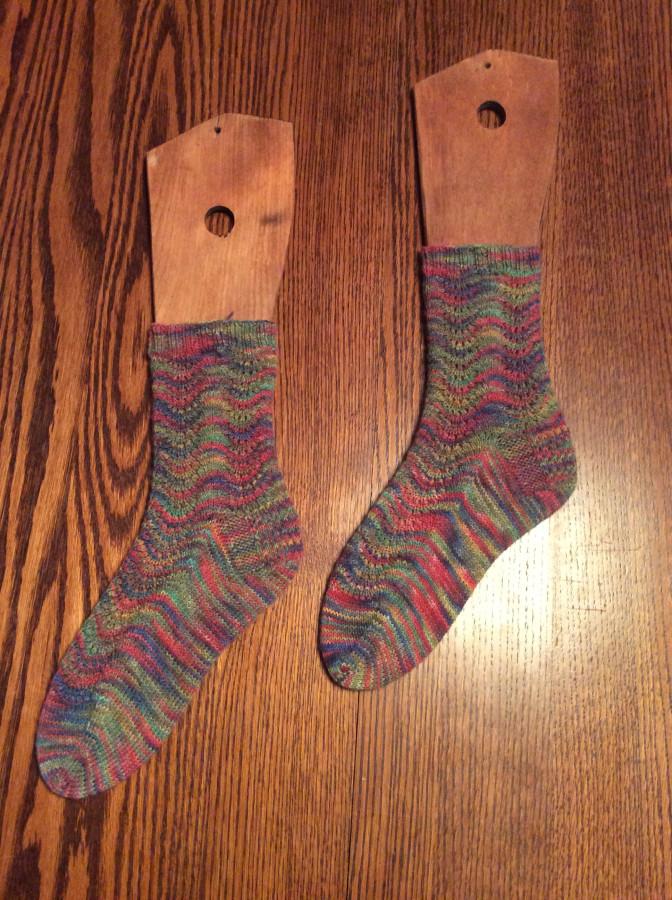 2016 Ugly socks left
