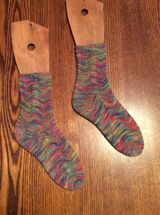 2016 Ugly socks right