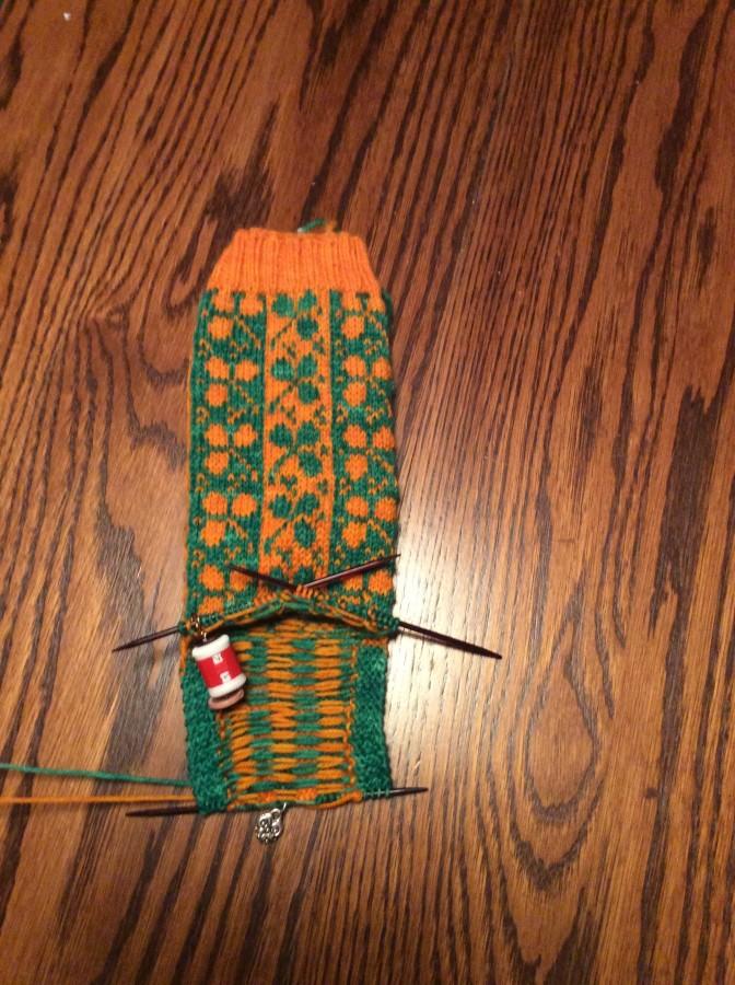 2016 Celeigh socks front