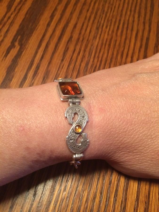 J walton Amber bracelet side