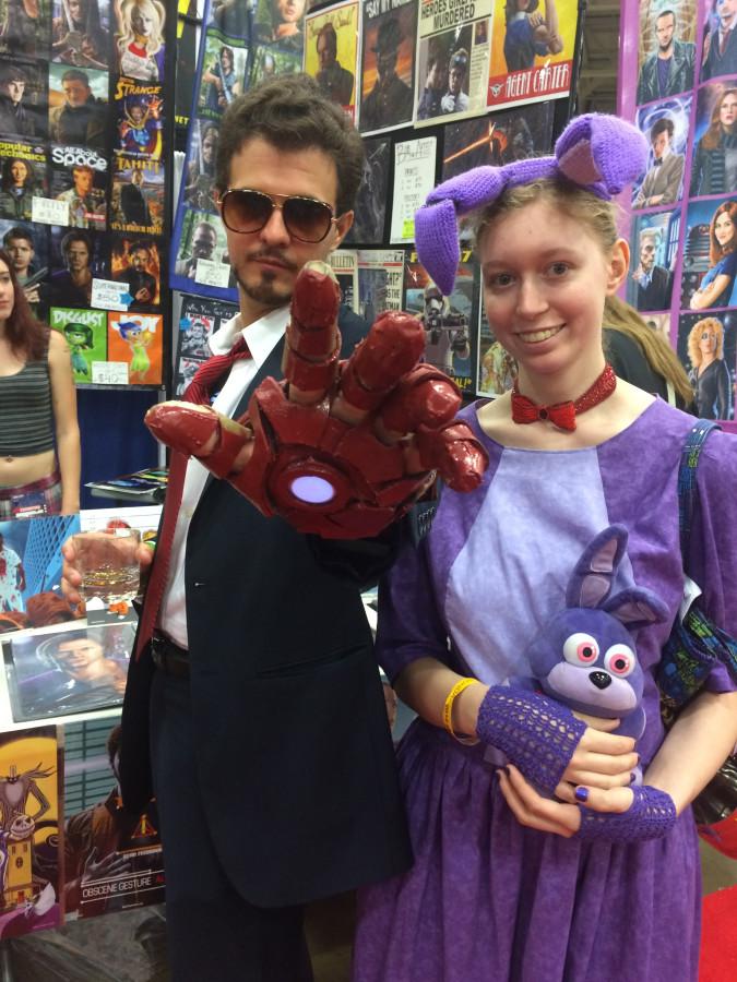 2016 Comic Con Tony & Bonnie