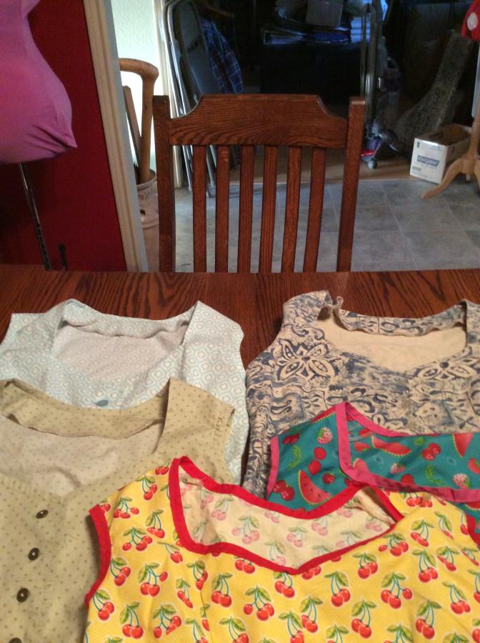2016 Gertie blouses