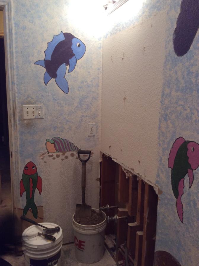 kids bathroom sink gone