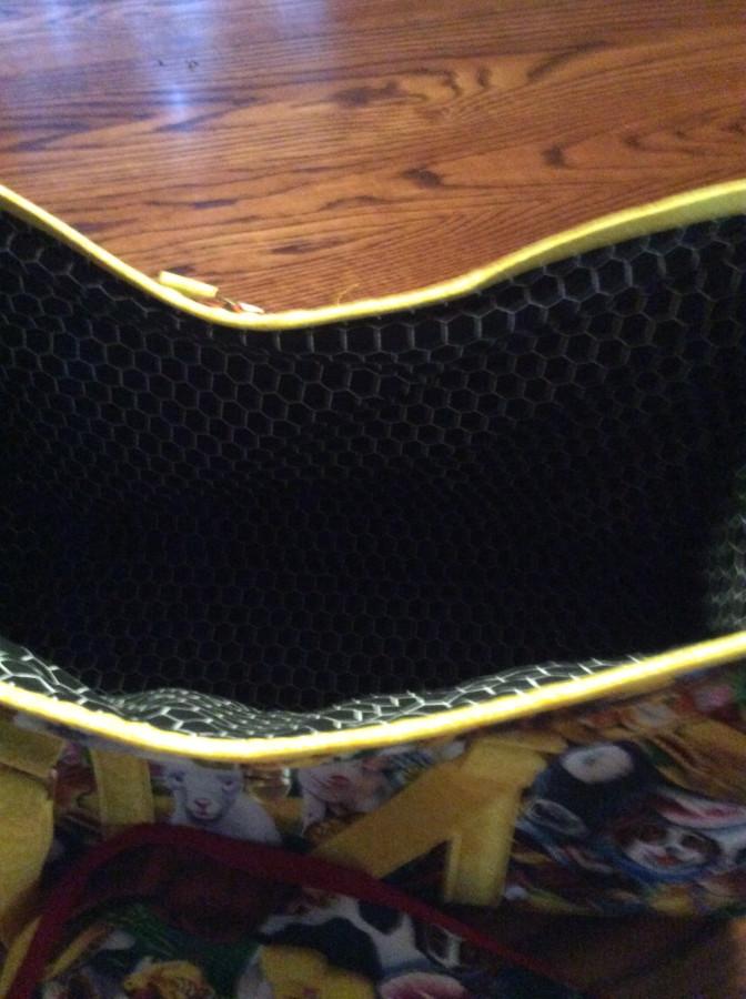 Critter Bag inside
