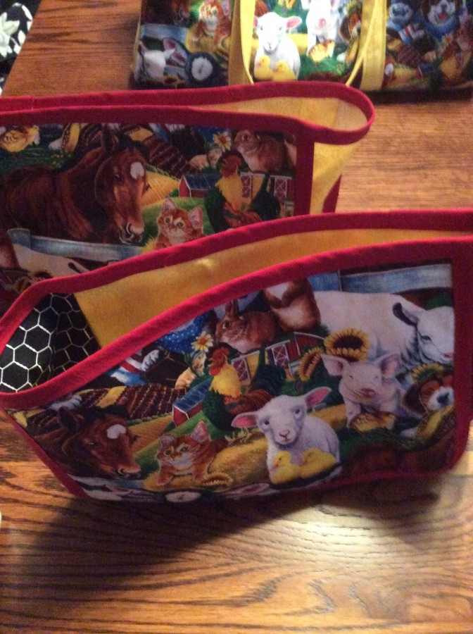 Critter Bag totes