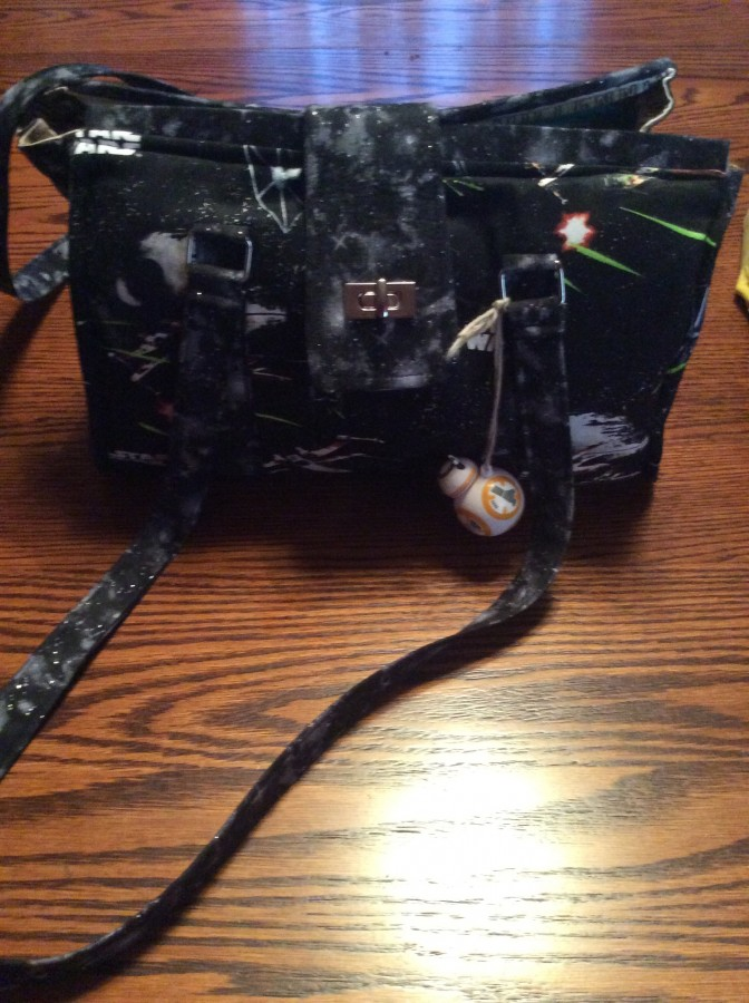 Star Wars Bag side