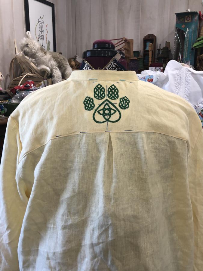 celtic dog back