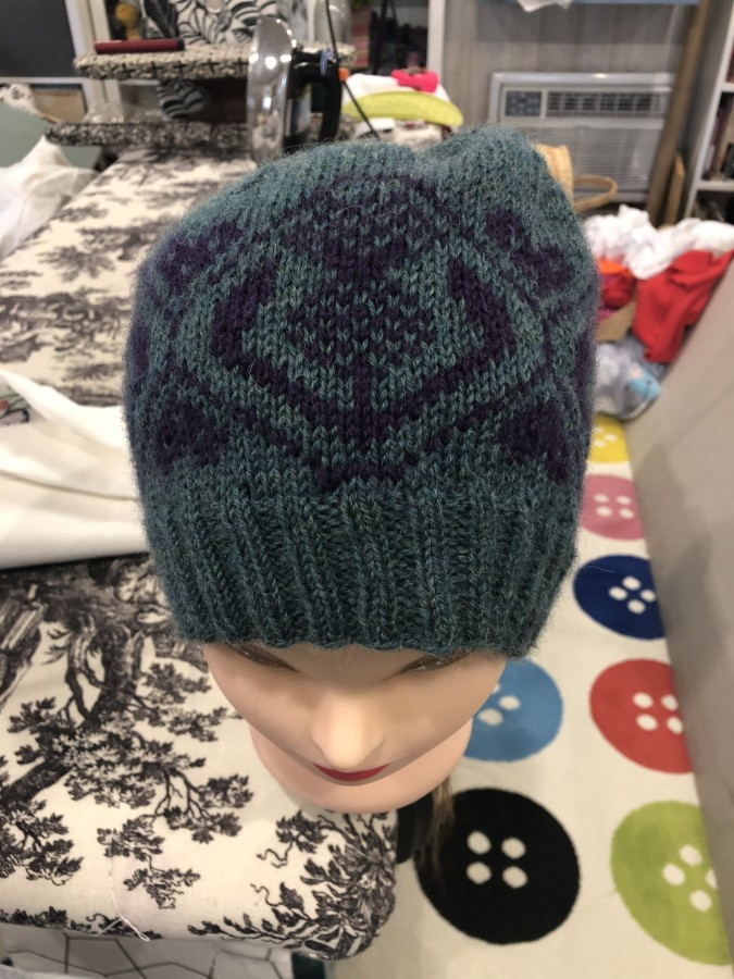 thistle hat front