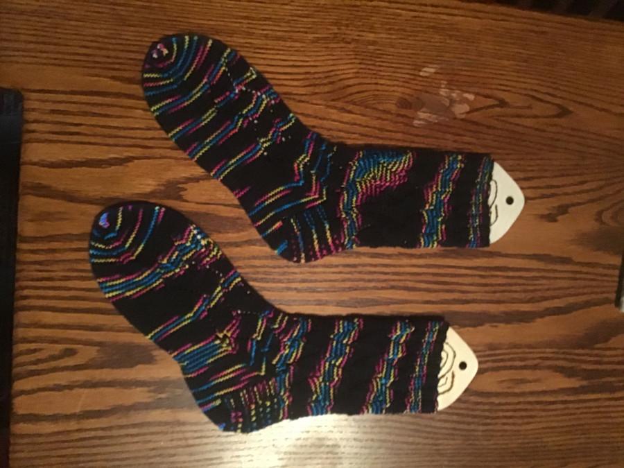 2021 HL techno socks left