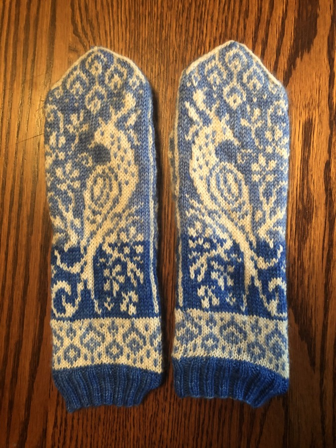 Birds of Paradise Mittens