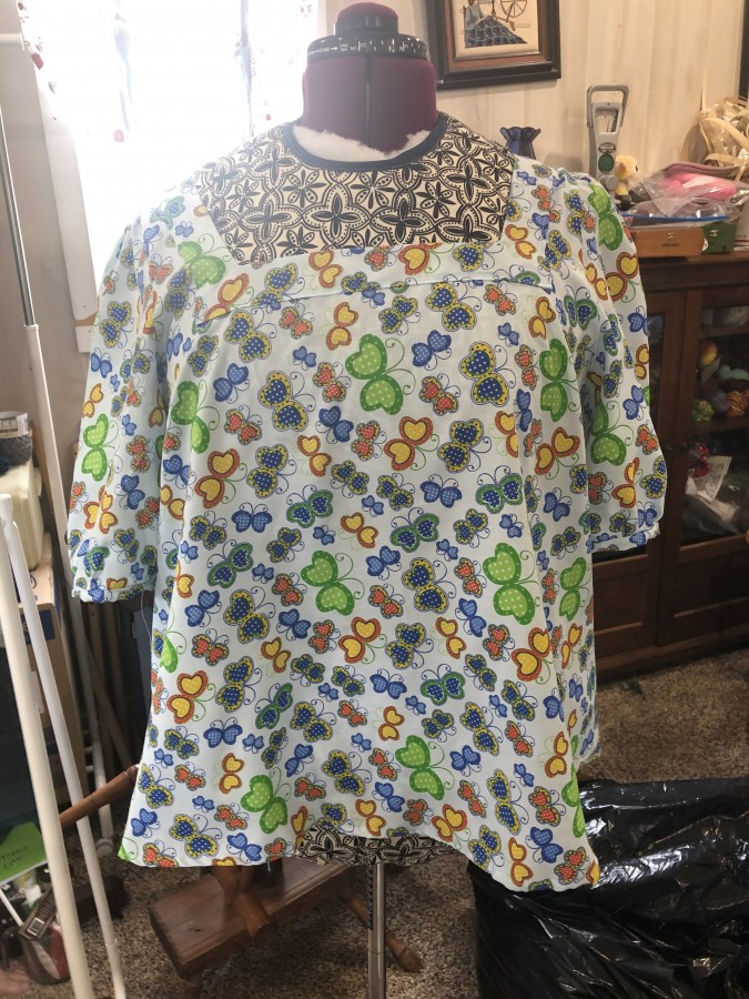 Clementine Butterfly top front