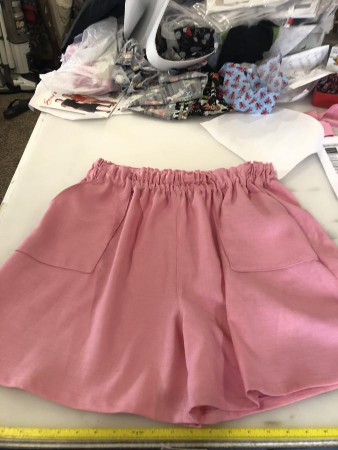 Emma shorts pink