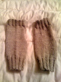 Fingerless Mittens v.2.0